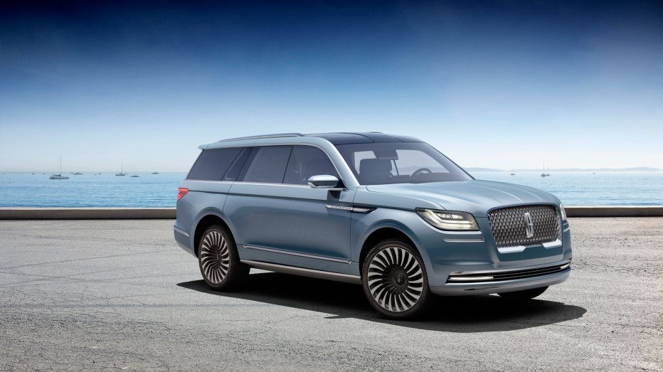 lincoln s yacht sized concept suv has a closet and staircase cars rh pinterest com