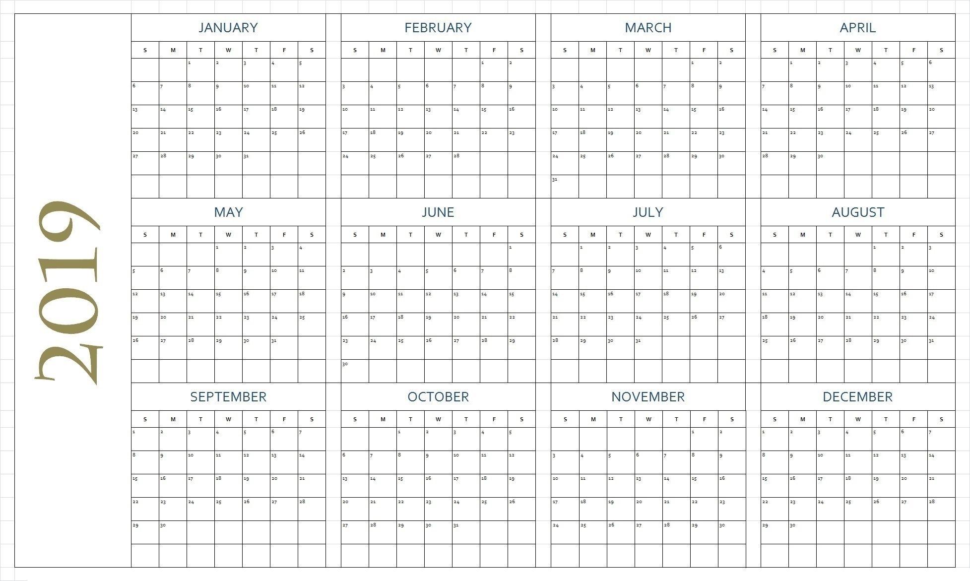 Free Blank Printable Calendar Pages Free Printable