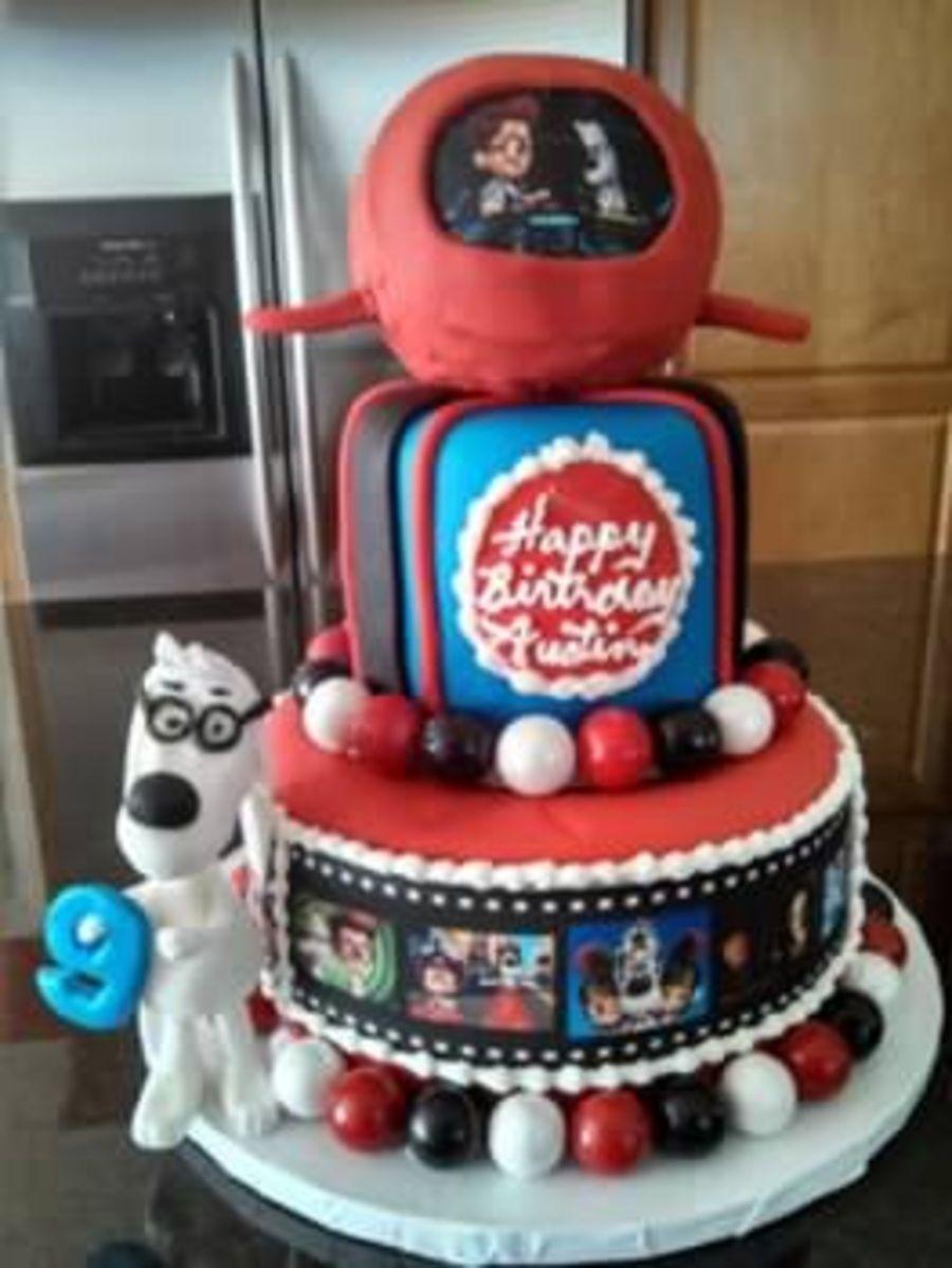 Mr. Peabody and Sherman cake