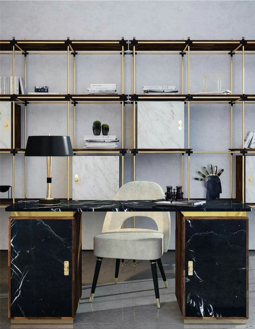 pin by studio lorphelin on offices home office design home office rh pinterest com