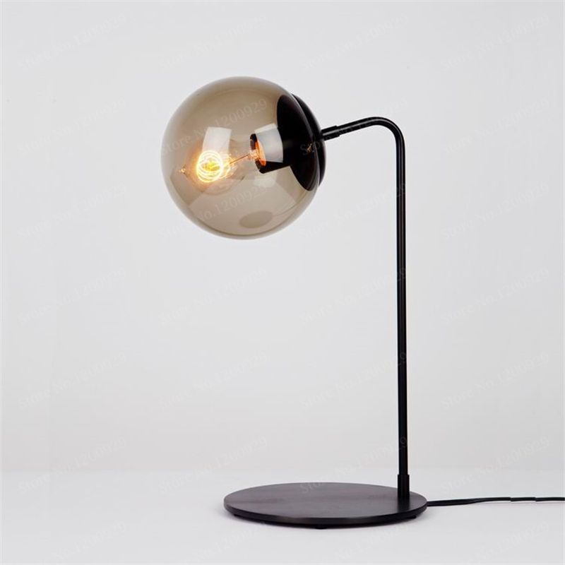 Modern Nordic Designer LED Table Lamp Black