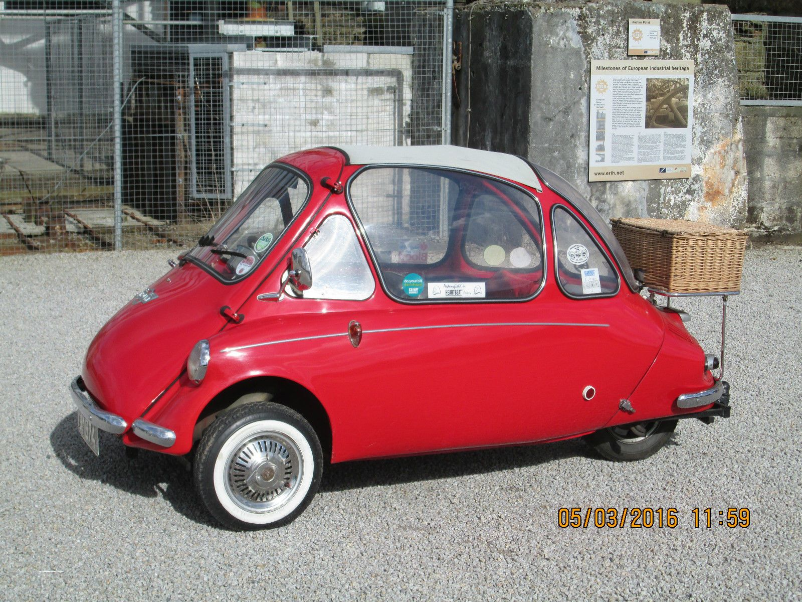 Heinkel Trojan Bubble Car Cars