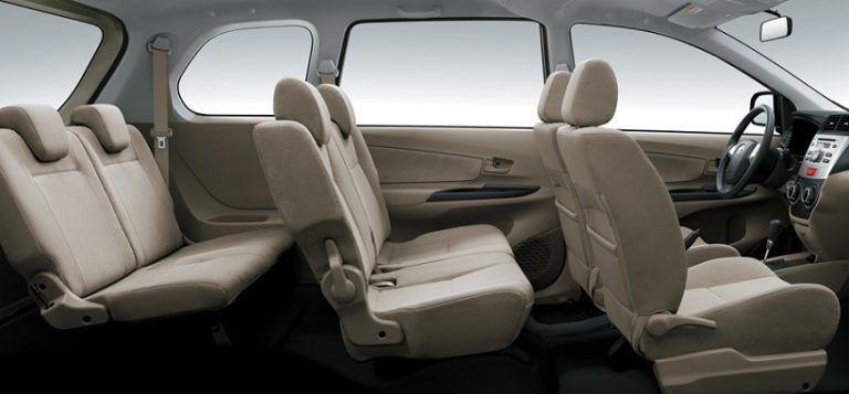 Kapasitas Tempat Duduk Avanza Mobil Tempat Toyota