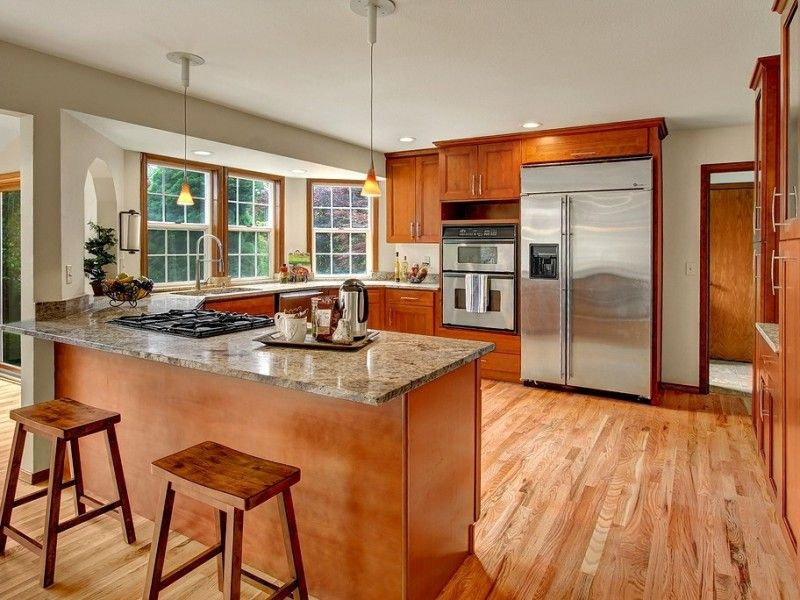 American Cherry Double Shaker | Cherry wood kitchens ...
