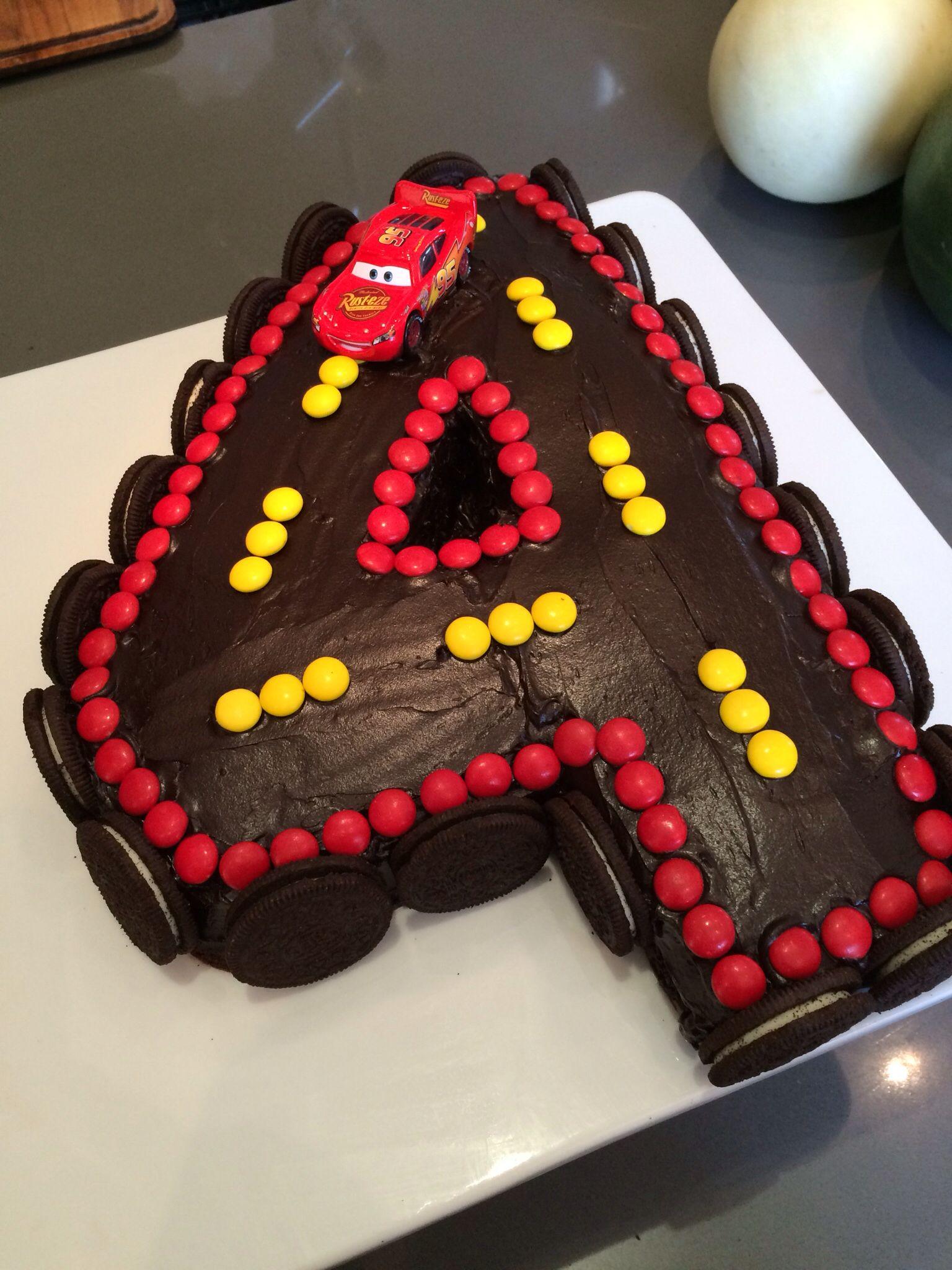 Cars Birthday Cake Lightening Mcqueen Cake