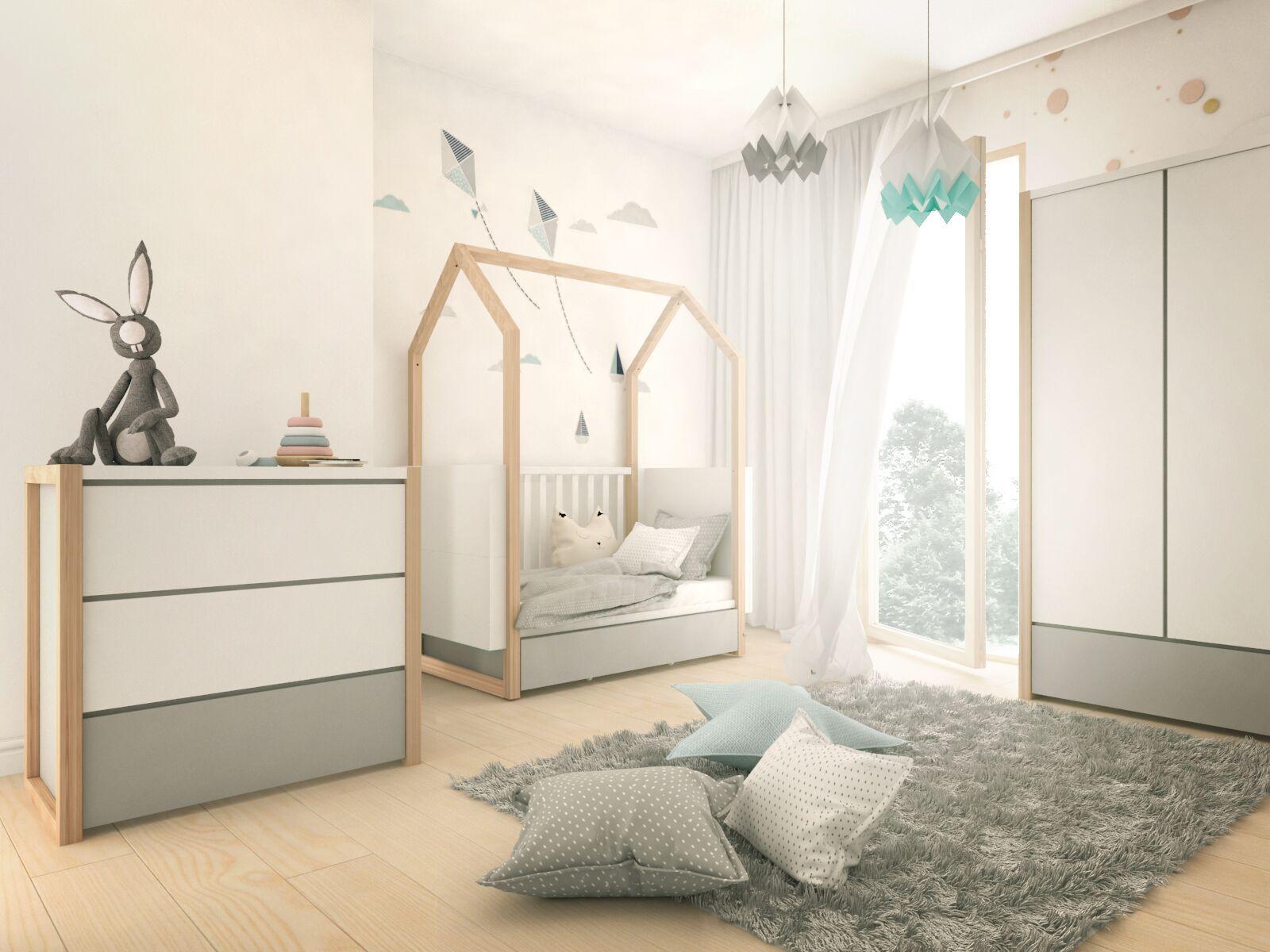 """Babybett Weiß """"Dinky Castle"""" 70x140 in 2020 Babybett"""