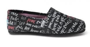 My beautiful Toms! Let Love Rule