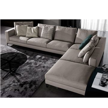 Minotti Andersen Sectional Amazing Rooms Living
