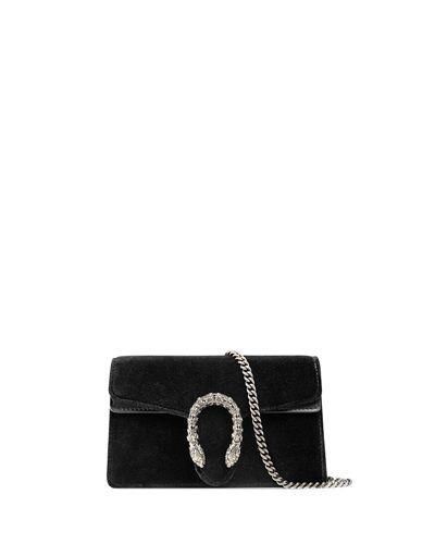 e81bb5b80c8 GUCCI Dionysus Velvet Super Mini Bag