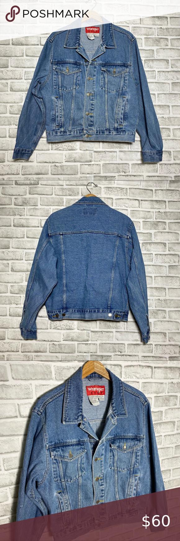 Vintage Wrangler Hero Unisex Denim Jean Jacket Denim Jean Jacket Vintage Wrangler Denim Jeans [ 1740 x 580 Pixel ]