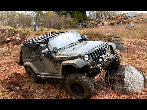 Alex Jeep Rubicon Off Road at Mont-Tremblant 2016 ARB Off Road Rally