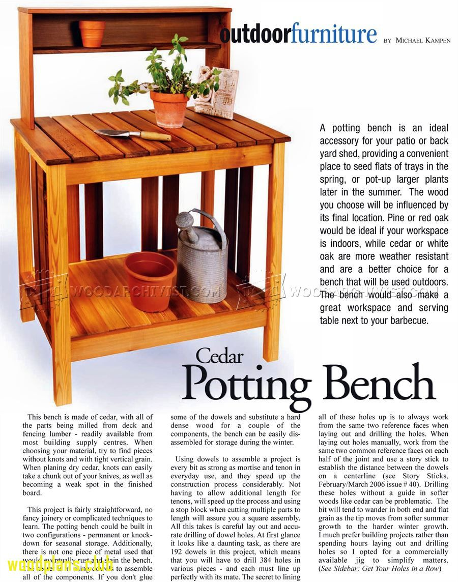 High Quality 2018 Potting Bench Woodworking Plans   Americas Best Furniture Check More  At Http://