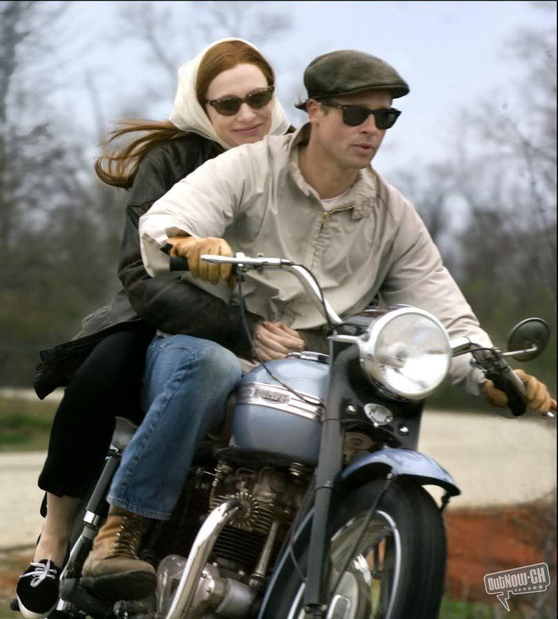 The Curious Case Of Benjamin Button Triumph Bulletin Board Britbike Forum Triumph Motorcycles Triumph Bikes Brad Pitt