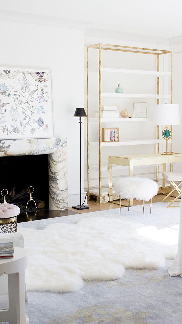 The interior designer creates tailored spaces that