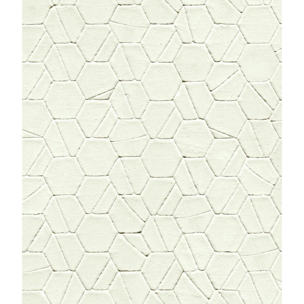 York Wallcoverings 56 Sq Ft Tiled Hexagon Wallpaper Di4774 Hexagon Wallpaper Wallpaper Roll Paper Wallpaper
