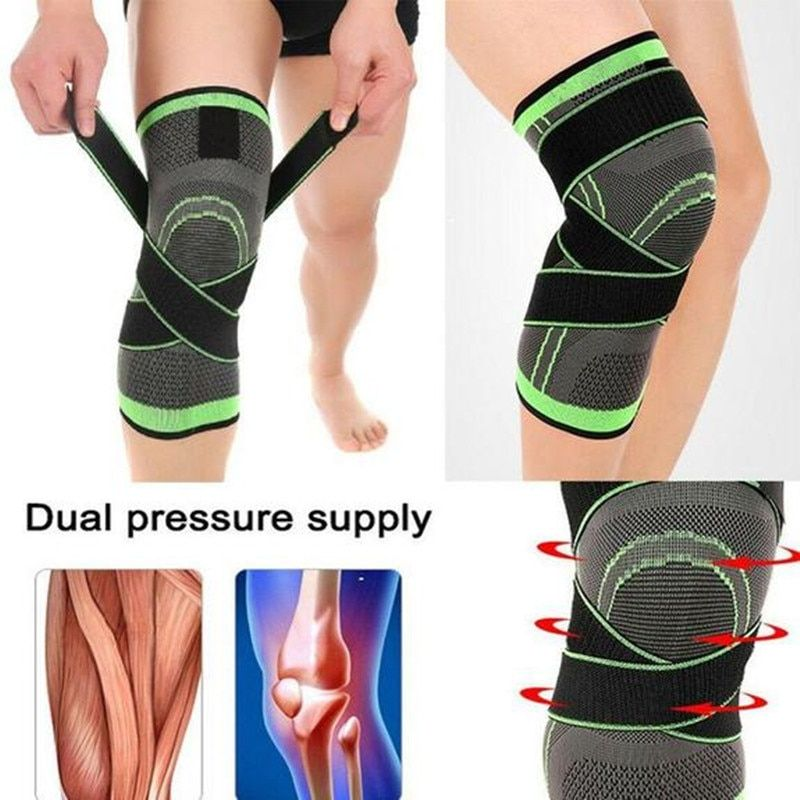 1pc Knee Support Compression Knee Brace Professional Protective Knee Pad Breathable Bandage Knee Brace Bask In 2020 Knee Brace Basketball Knee Pads Knee Support Braces