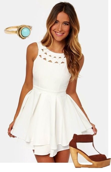 Graduation Dresses To Wear Under The Gown 62