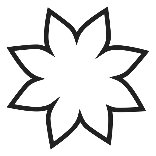 Poinsettia Flower Outline Icon Ad Aff Ad Flower Outline Icon Poinsettia Flower Outline Flower Clipart Poinsettia Flower
