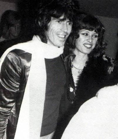 Keith Richards With German Girlfriend Uschi Obermaier September 24