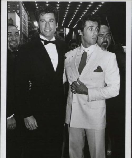John Travolta and Sylvester Stallone