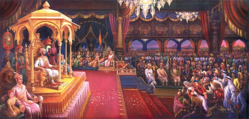 Sivaji 3d Wallpaper Shivaji Maharaj Rajyabhishek Sohala Coronation Ceremony