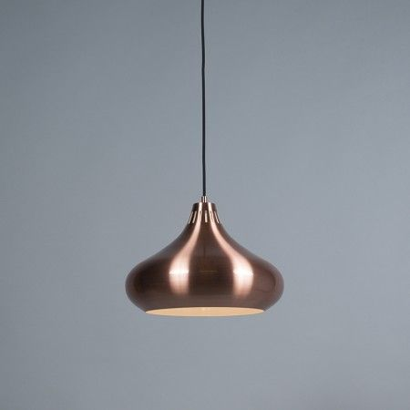 Lámpara colgante ODYSSEY cobre | Lámparas colgantes | Pinterest ...