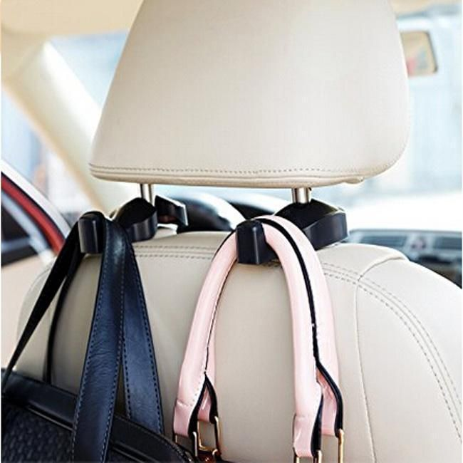 Car Portable Seat Hanger Purse Bag Holder Hook Headrest Auto Rear Racks Hook