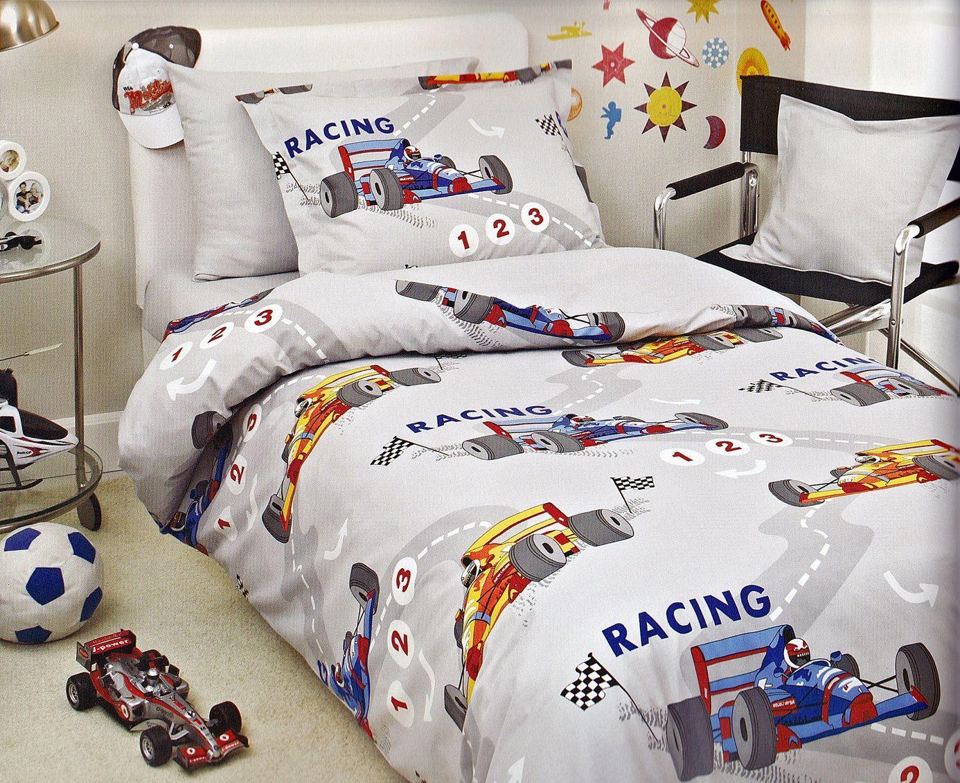 mv race car kids bedding httpwwwtheboysdepotcom - Toddler Boy Sheets