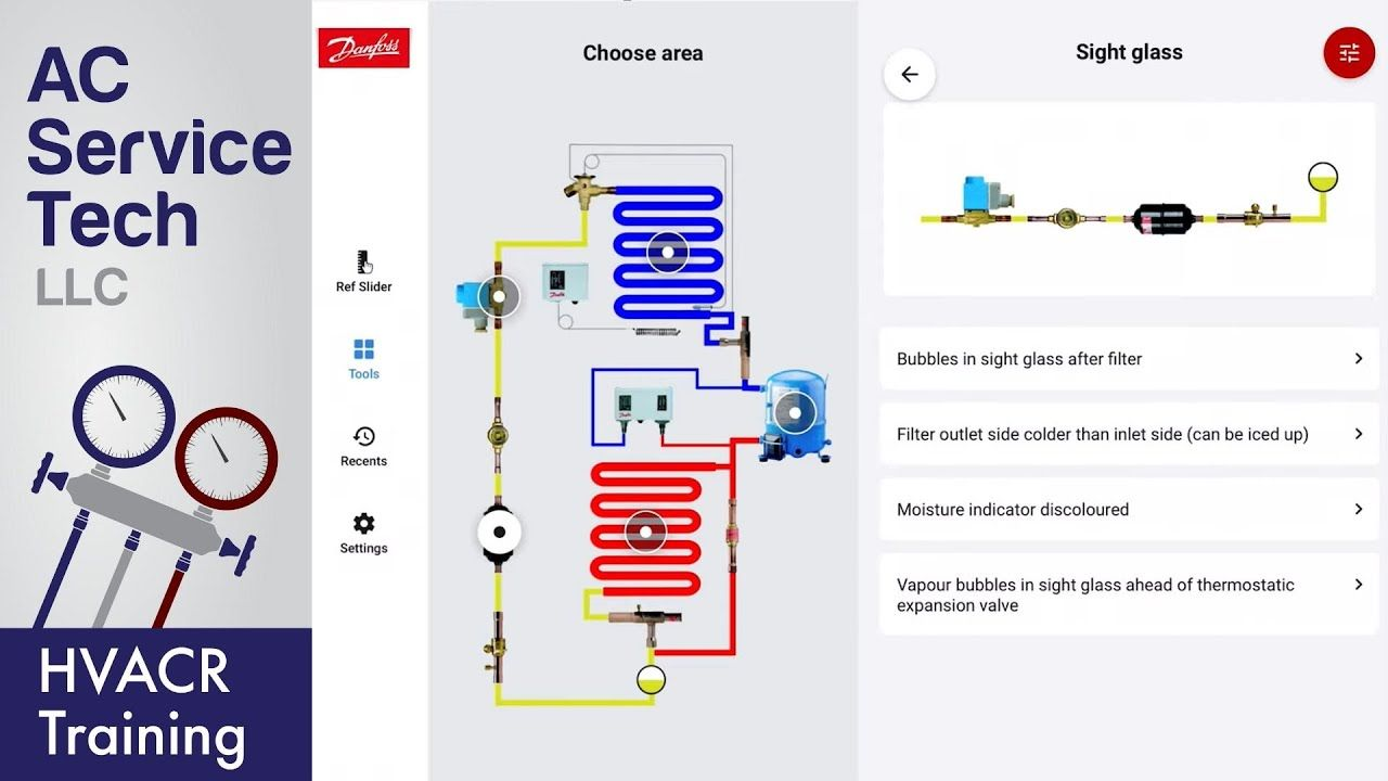 Danfoss Ref Tools App Learn Practice Work With 6 Hvacr Apps In 1 Youtube Ac Service Tech Practice Learning