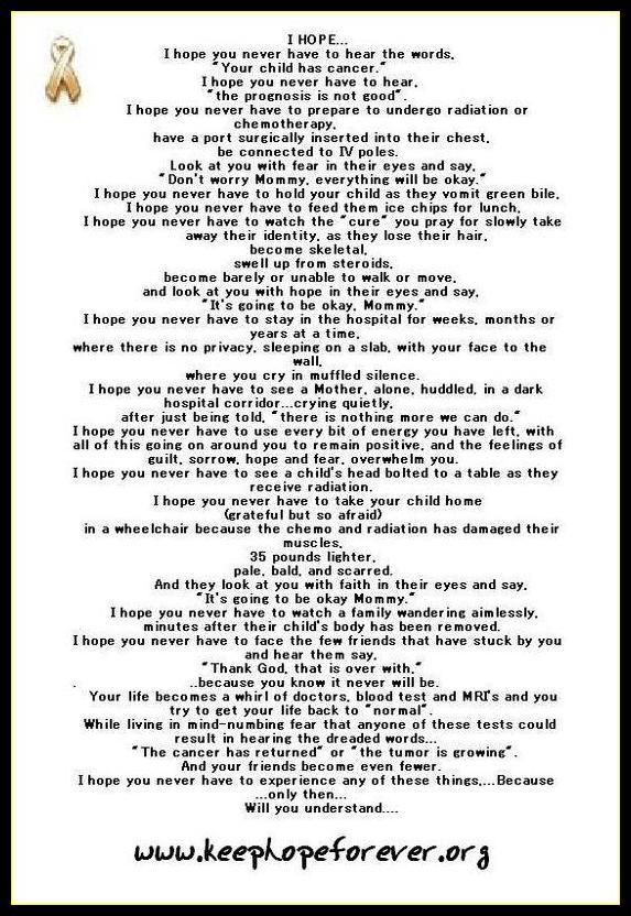 Cancer Poems 2