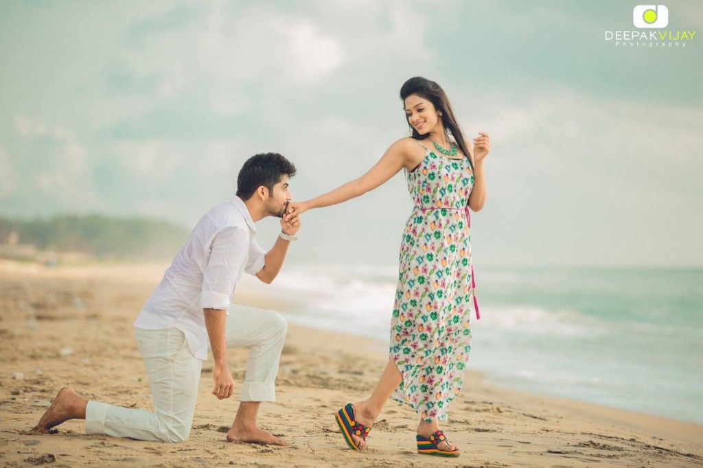 The Celebrity Wedding Story Of Sun Music Vj Diya Karthik Pre Wedding Photoshoot Outdoor Wedding Photoshoot Wedding Couple Poses