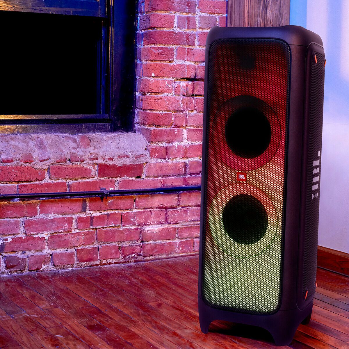Jbl Partybox 1000 Powerful Bluetooth Party Speaker With Full Panel Light Effects In 2020 Party Speakers Jbl Speaker