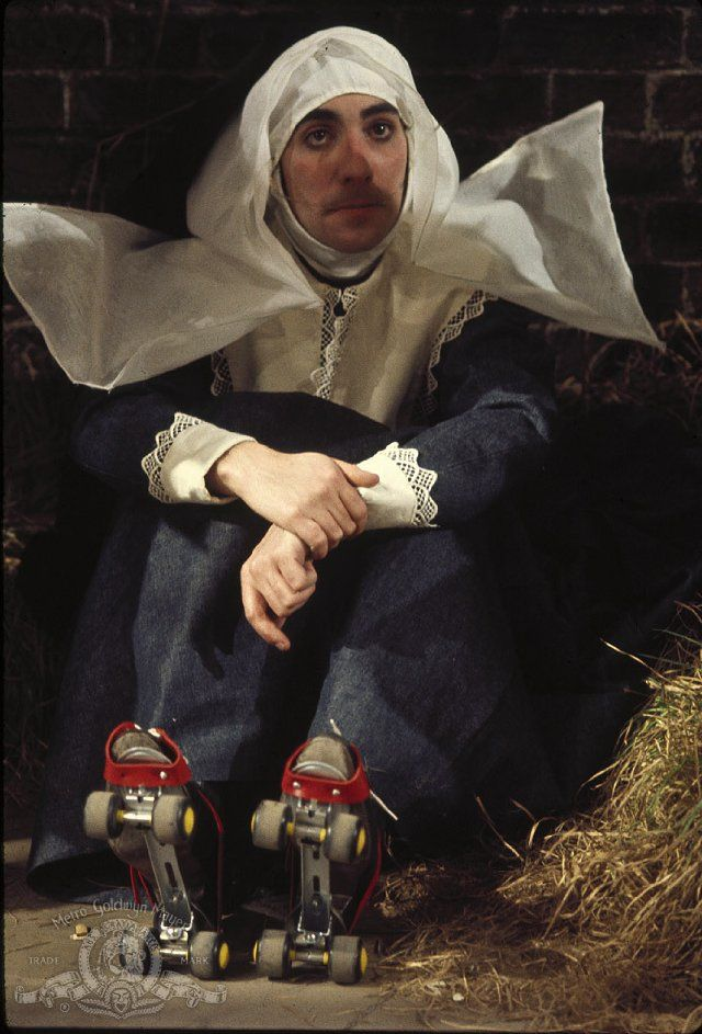 Keith Moon as The Hot Nun in 200 Motels(movie).
