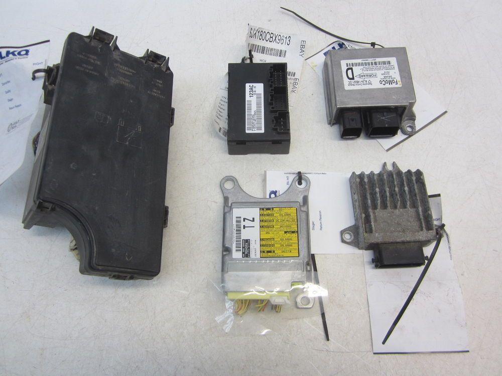 nissan rogue body control module