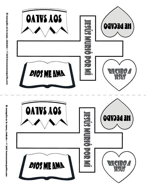 marcadores de paginas para niños cristianos para colorear - Buscar ...