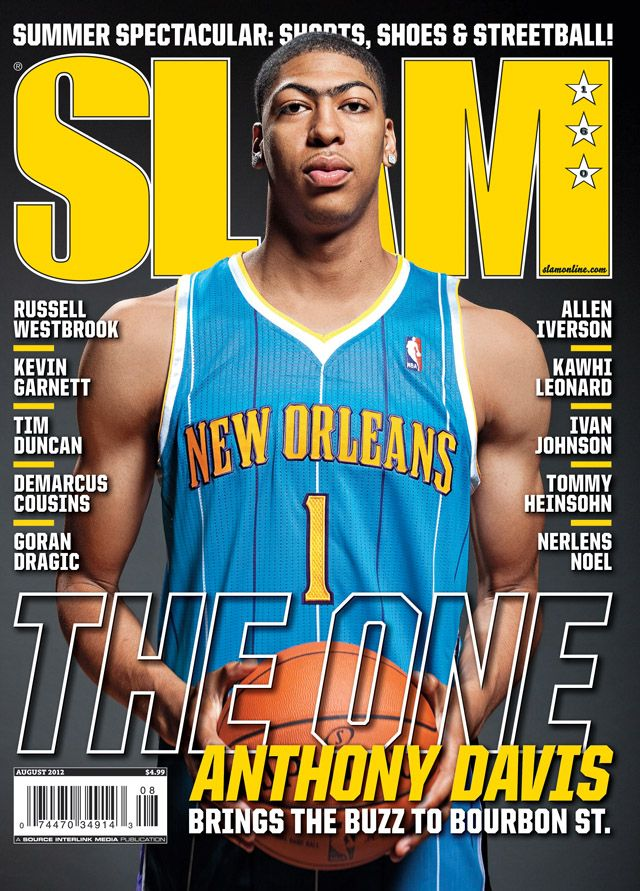 It didn\'t take SLAM long to get Anthony Davis in a Hornets uniform ...
