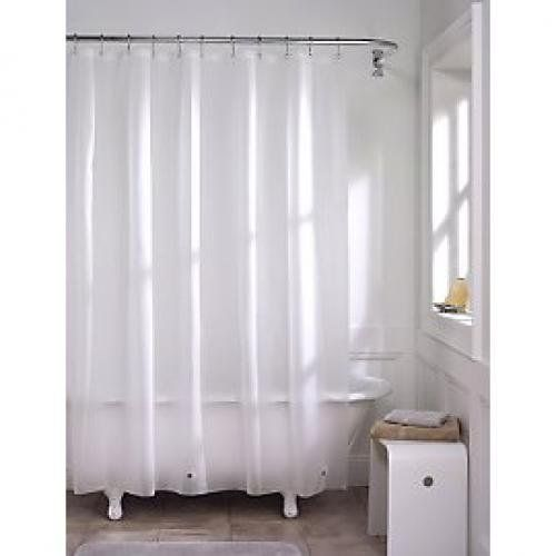 eco friendly shower curtain liner softy eva liner frosty 72 x rh pinterest com