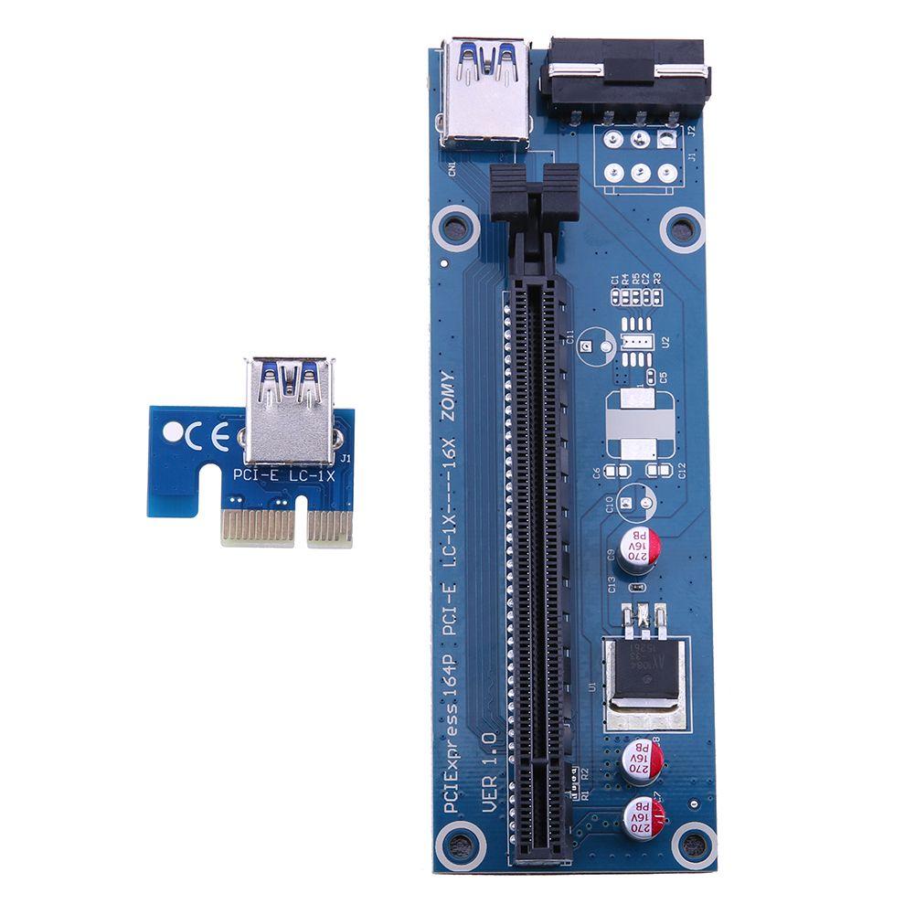 Click to Buy << 3 Capacitances USB 3.0 PCI PCI-E 1X to 16X Express ...
