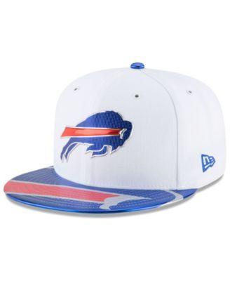 New Era Buffalo Bills 2017 Draft 59FIFTY Cap - Blue 7 1 8  166175cff
