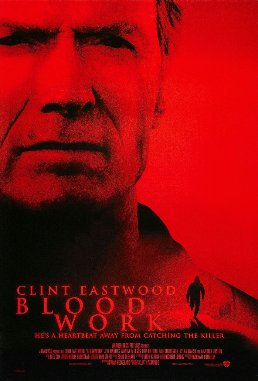 2002 Blood Work Clint Eastwood Em 2020 Filmes Cartaz Veterano
