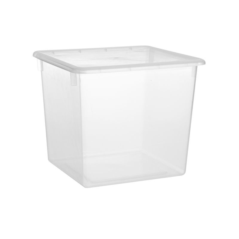 Large Clear Plastic Storage Box Reviews Crate And Barrel Plastic Box Storage Plastic Container Storage Plastic Storage