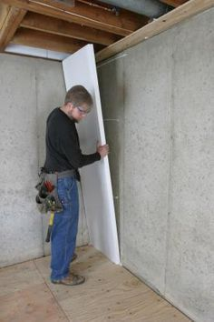 how to insulate a basement wall if you want to avoid moisture rh pinterest com