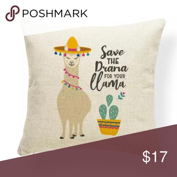 Llama Pillow Cover | Llama