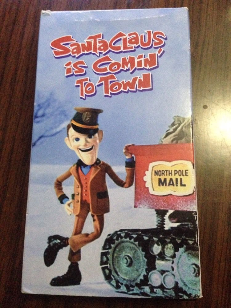 Santa Claus Is Coming to town VHS Fred Astaire Original Television Classic