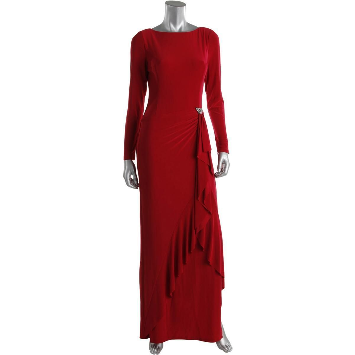 Nice amazing ralph lauren womens red embellished long sleeves