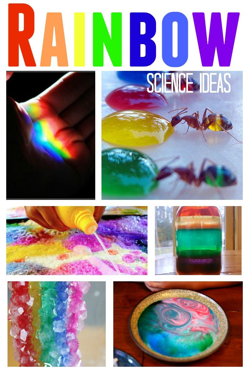Awesome Rainbow Science Experiments For Kids Kid Blogger