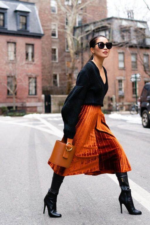 Knit Sweater  Fall Street style fashion   Pinterest fromluxewithlove