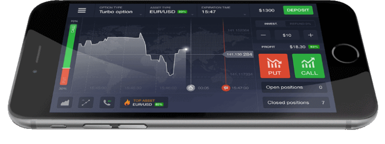 The IQ Trading App is one of the most popular around the ...