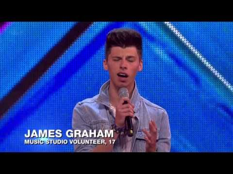 """James Graham - """"I Can't Make You Love Me"""" The X Factor UK 2014 Arena Auditions Week 1.  Gorgeous tone, but he needs to work on those facial expressions."""