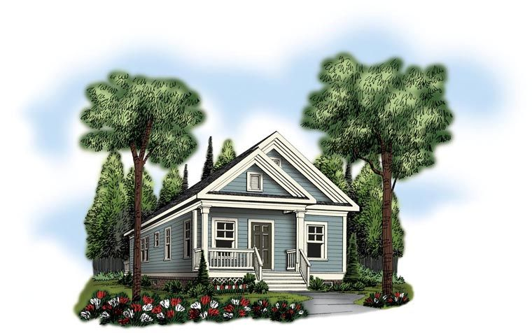 House Plan chp-54198 at COOLhouseplans.com